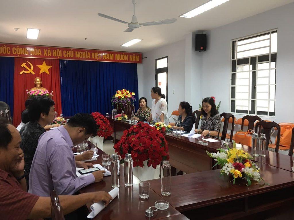 Đoàn làm việc tại Sở Văn hóa, Thể thao và Du lịch Phú Yên