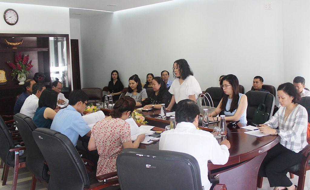 Đoàn làm việc với Sở Du lịch Đà Nẵng và đại diện một số Sở ngành liên quan