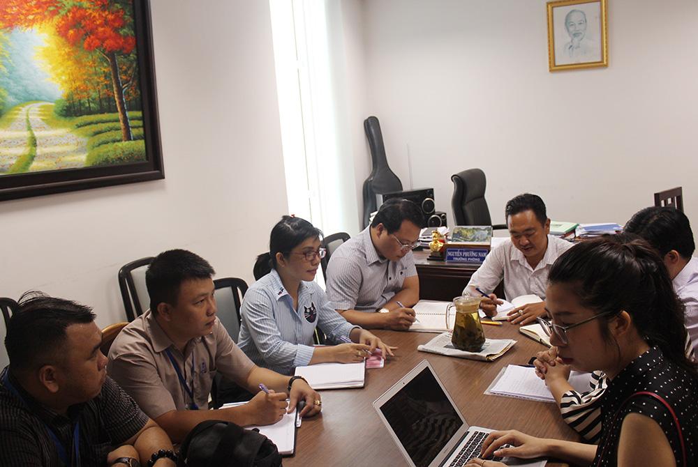<em>Đoàn làm việc tại UBND Quận 3, Tp.Hồ Chí Minh</em>