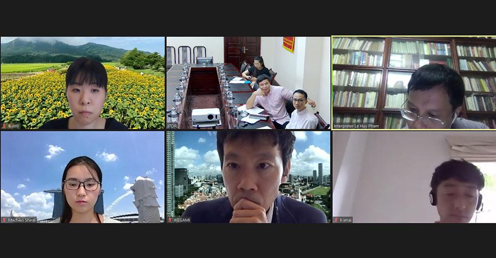 Đại diện J.CLAIR lắng nghe các nội dung chính của Chiến lược phát triển du lịch Việt Nam đến năm 2030
