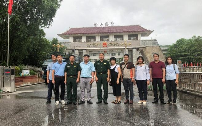 Khảo sát cửa khẩu Thanh Thủy – Hà Giang