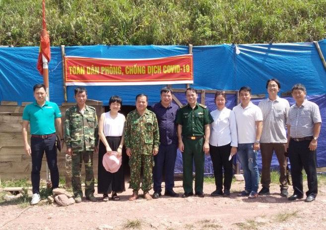 Khảo sát tuyến đường tuần tra biên giới Lạng Sơn – Móng Cái