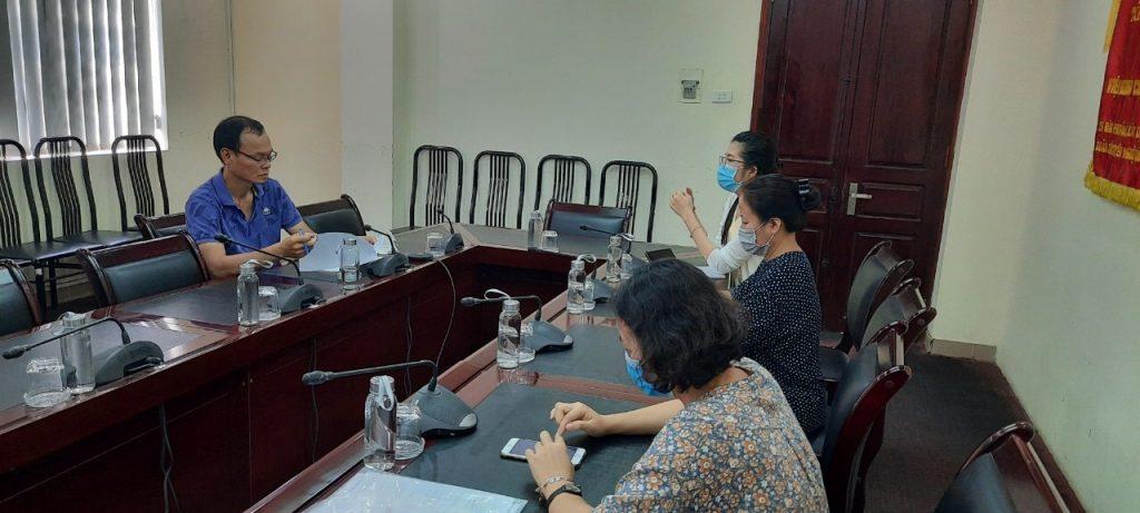 Đoàn làm việc với chuyên gia Nguyễn Chiến Thắng – Đại sứ Airbnb tại Việt Nam